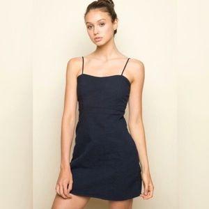 Dresses & Skirts - Brandy Melville Navy Karla Dress